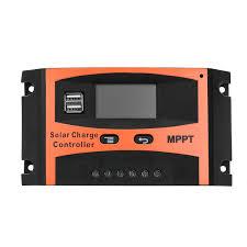 30A/<b>40A</b>/<b>50A</b>/<b>60A</b> MPPT Solar Charge Controller 12V/24V <b>LCD</b> ...