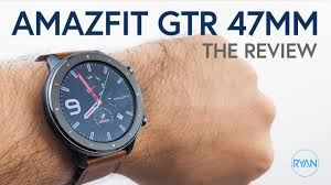 <b>Amazfit GTR 47mm</b> REVIEW - MOST BEAUTIFUL Smartwatch today ...