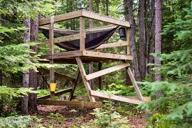 Building a Simple Freestanding Treehouse   Yea Dads HomeBuilding a Simple Freestanding Treehouse