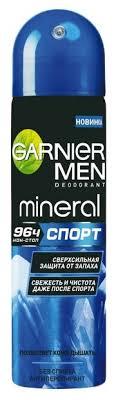 <b>Дезодорант</b>-<b>антиперспирант спрей Garnier</b> Men Mineral Спорт ...