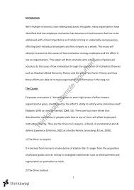 low employee motivation  assignment essay   mgts    low employee motivation  assignment essay