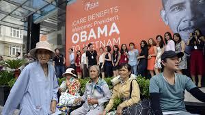 Kết quả hình ảnh cho Người dân chào đón tổng thống Obama