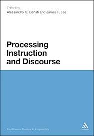 Processing Instruction and Discourse - Kindle edition by <b>Alessandro</b> ...