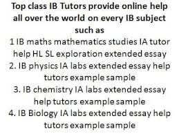 ib tok ia commentary extended essay help tutor example sample    ib tok ia commentary extended essay help tutor example sample assignment