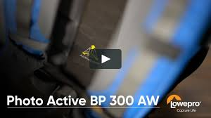 <b>Lowepro Photo Active BP</b> 300 AW - Product Walk Through on Vimeo