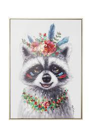 <b>Картина</b> Racoon 72х52 <b>см Kare</b>, цена 15 560 руб. в Волжском ...