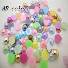 <b>Hot Sale</b>!<b>free Shipping</b> 100pcs/lot Size 8mm Ab Colors Imitation ...