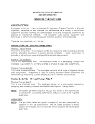 resume physical therapist aide resume physical therapist aide resume