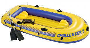 Надувная <b>лодка Intex Challenger 3</b> Set 68370 295х137х43 см ...