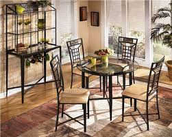 ashley furniture kitchen tables: ashley furniture pub table sets angled view from above of