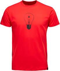 <b>Футболка Black Diamond</b> Idea Tee, hyper red, L INT ...