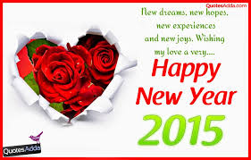 Happy New Year My Love - 2015 New Year Quotes for Lovers - Telugu ...