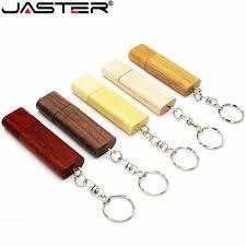 JASTER <b>Wooden rotatable USB flash drive</b> pendrive 4G 16GB 32GB ...