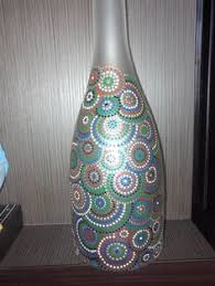 <b>Ваза</b>-реплика   point-to-point   Glass bottle crafts, Bottle painting и ...