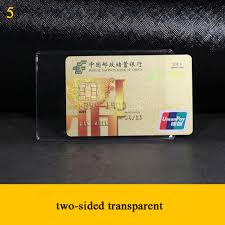 <b>fashion Waterproof</b> Transparent <b>Pvc Card</b> Cover Silicone Plastic ...