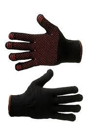 <b>Перчатки трикотажные</b> «Осень» <b>утепленные</b> с точечным ПВХ ...
