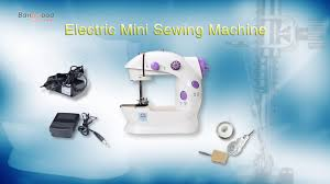 Electric <b>Portable Handheld</b> Sewing Machine Travel <b>Household</b> ...