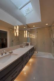 bathroom lighting ideas double vanity bathroom contemporary with solid surface countertops undermount sinks bathroom lighting ideas double vanity modern