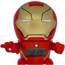 электронный будильник marvel 2021685 красный