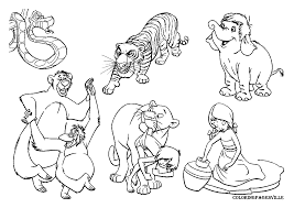 Small Picture Free Coloring Pages Of Jungle Animals Coloring Pages