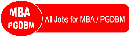 job for mba pgdbm pass एमबीए पीजीडीएम पास के mba pgdbm jobs jobisearch com