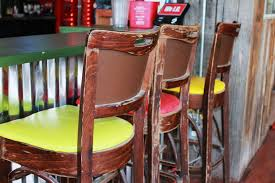 what does a restaurant manager do colorful chairs at restaurant