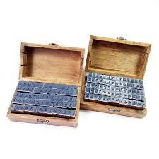<b>70pcs</b>/<b>set Cute Number&Letter</b> Vintage Wooden Box Case Alphabet ...