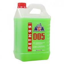 Купить <b>Жидкость стеклоомывающая летняя</b> AGA 4л. по выгодной ...