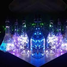 <b>1M 10Led</b> 2M 20Led Glass <b>Wine LED</b> String Light Cork Shaped ...