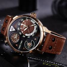 Online Shop EYKI Super Big Multilayer Stereoscopic Dial Two Time ...