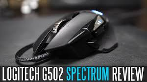 <b>Logitech G502 Proteus Spectrum</b> RGB Gaming Mouse - Full Review ...