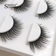 <b>SHIDISHANGPIN 3d mink eyelashes</b> hand made makeup false ...