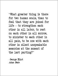 George Eliot Adam Bede love quote retro by JenniferDareDesigns ... via Relatably.com