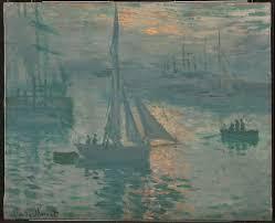 <b>Sunrise</b> (Marine) - Claude Monet — Google Arts & Culture