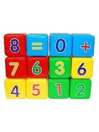 "Набор кубиков ""Первая математика"" (кубик 7х7 см) <b>Пластмастер</b> ..."