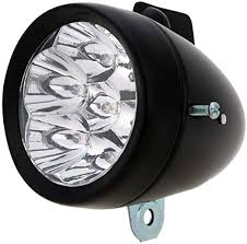 ewrwrwr Waterproof LED Metal Shell <b>Bicycle</b> Head Light <b>Retro</b> ...