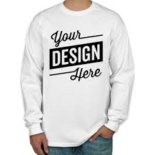 Design Custom Printed <b>Gildan</b> Ultra Cotton Long-<b>sleeve T</b>-<b>Shirts</b> ...
