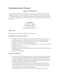 Resume Music Resume For Your Job Application