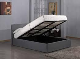 Grey - Bed Frames / Beds, Frames & Bases: Home ... - Amazon.co.uk