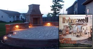 outdoor fireplace paver patio:  outdoor fireplace from backl fireplace and paver patio