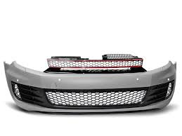 Front Bumper <b>Volkswagen VW</b> Golf VI Golf 6 (With <b>parking sensor</b> ...