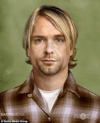 Old Kurt Cobain. Sachs Media recently commissioned some speculative portraits of various dead musical legends, using CGI technology to figure out how they'd ... - Old-Kurt-Cobain