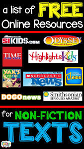 17 best ideas about non fiction nonfiction online resources for nonfiction reading for kids
