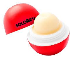 <b>Бальзам для губ</b> Lip Balm <b>Strawberry</b> 7г (клубника) Solomeya ...