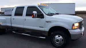 F350 Diesel For Sold2007 Ford F350 Crew King Ranch For Sale4x4dieselleather