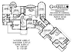 Caglestone Estate House Plan   House Plans by Garrell Associates  Inc     caglestone estate house plan   nd floor plan