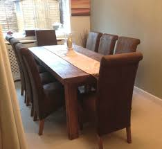 Brown Leather Dining Room Chairs Chair Brown Leather Dining Room Chairs