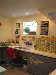 basement office space with tool and parts storage basement office setup 3 primary