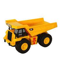 toystate 34621 cat big builder shaking machine dump truck trucks