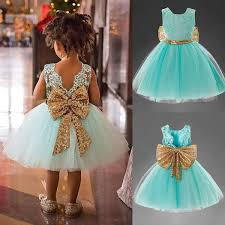 2019 <b>Girls</b> Evening Princess <b>Dress Bridesmaid Pageant</b> Sequins ...
